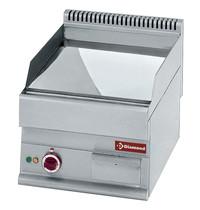 Diamond Bakplaat/Grillplaat Hard Verschroomd ''50µm'' -Top- | Vlak 395x520mm 20,5 dm2 | 4,5kW | 400x650x280/380(h)mm