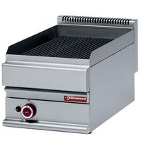 Diamond Stoomgrill Top gietijzeren roosters | Bakplaat 395x520mm  | 7,5kW | 400x650x280/380(h)mm