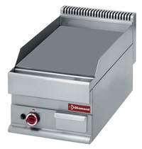 Diamond Bakplaat/Grillplaat Vlak Top | Bakplaat 395x520mm | 5,7kW | 400x650x280/380(h)mm