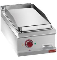 Diamond Bakplaat/Grillplaat Hard Verchroomd Top | Bakplaat 350x570mm | 4kW | 400x700(730)x250/320(h)mm