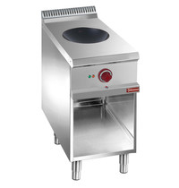 Diamond Inductie wok op open kast | 5 kW/h | 400x700x850/920(h)mm