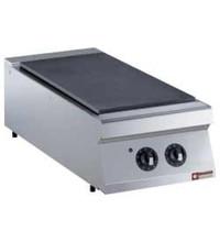Diamond Kookplaat elektrisch 1/2 module Top | 2x 2,5 kW/h | 400x700x250/320(h)mm