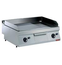 Diamond Bakplaat/Grillplaat Verchroomd Top | Bakplaat 730x540mm | 14kW | 800x700x250/320(h)mm