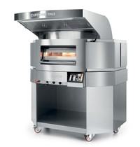 Cuppone Roterende Pizzaoven | Cuppone Giotto | Enkele Kamer | 6 Ø350mm | 400V | 14,6kW | Touchscreen | 1366x1438x1696(h)mm