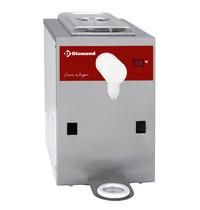 Diamond Slagroomtoestel in RVS kuip 5L | 150 liter/h | 400W | 280x440x400(h)mm