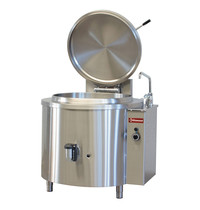 Diamond Kookketel rond gas met indirecte verwarming   100 liter   900(h)mm