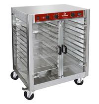 Diamond Warmtekast op wielen voor kippengrill   230V   +95°   Geventileerd   850x700x1050(h)mm