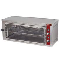 Diamond Salamander/Toaster met regelbaar rooster | 1 etage | 4,4 kW/h | 880x350x400(h)mm