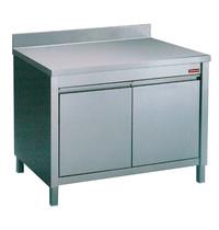 Diamond Neutrale werktafelkast met achteropstand en  2 klapdeuren | 800x700x880/900(h)mm