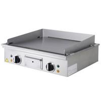 Diamond Teppanyaki elektrische plaat 2 zones | 2x 3,15kW/h | 580x500x125(h)mm