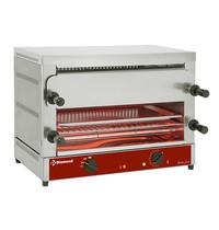 Diamond Salamander/Toaster met Quartz | 2 etages | GN 1/1 | 4 kW/h | 640x380x475(h)mm