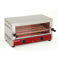Diamond Salamander/Toaster met Quartz| 1 etage | GN 1/1 | 2,7kW/h | 640x380x330(h)mm
