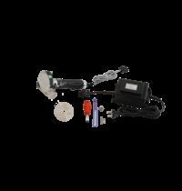 Jet Donermes JET 80-D elektrisch | Platte en ronde kartelmes | 150x22x320(h)mm