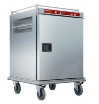 Diamond Verwarmde wagen voor maaltijden met gecontroleerde bevochtiging | 10x GN 2/1 | 2 kW/h | 790x935x1215(h)mm