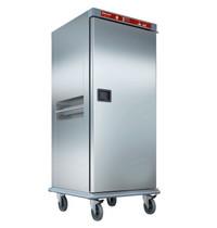 Diamond Verwarmde wagen voor maaltijden met gecontroleerde bevochtiging | 20x GN 2/1 | 2 kW/h | 790x935x1855(h)mm