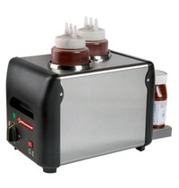 Diamond Chocolade verwarmer 'chocopasta of vloeibaar honing, sauzen, kaas 2x 1 liter | 230V | 310x210x230(h)mm