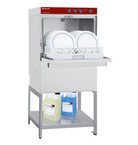 Diamond Horeca Vaatwasser + Onderstel | Mand 500x500mm | 400V | Naglanspomp | 580x600x1377(h)mm