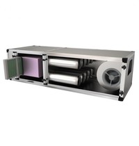 UNNINOX Geurfilterkast FGFK | 4,5A | 3250 m3/u | 12 carbon filters | 230V | 550W | 1800x670x500(h)mm
