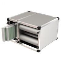 UNNINOX Geurfilterkast FBK 1500 model  | 8 carbon filters  & 2 cassette filters | 800x700x500(h)mm