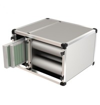 UNNINOX Geurfilterkast FBK 2500 model | 10 carbonfilters & 2 cassette filters | 800x700x700(h)mm