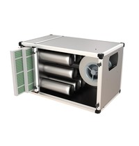 UNNINOX Geurfilterkast FTBK | 5,5A | 4250 m3/u | 550W | 15 carbonfilters & 2 cassette filters | 1200x700x700(h)mm
