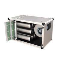 UNNINOX Geurfilterkast FTBK | 7,0A | 5000 m3/u | 750W | 18 carbon filters & 2 cassette filters | 1500x790x790(h)mm