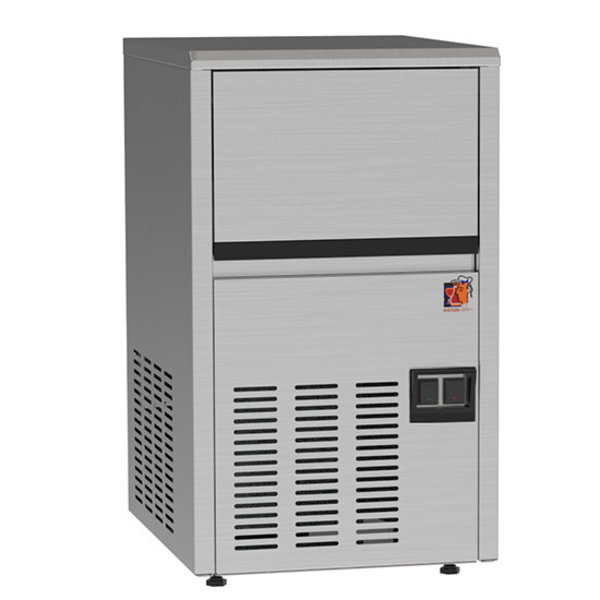 IJsblokjesmachine   Maat M   22kg/24h   Voorraad 4kg   355x435x590(h)mm