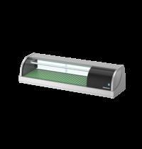 Hoshizaki Sushivitrine | RVS/Zwart | 42L | +3°C/+5°C | Statisch | Compressor Links | 1200x345x270(h)mm
