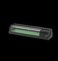 Hoshizaki Sushivitrine | Zwart | 57L | +3°C/+5°C | Statisch | Compressor Links | 1500x345x270(h)mm