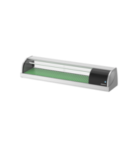 Hoshizaki Sushivitrine | RVS/Zwart | 57L | +3°C/+5°C | Statisch | Compressor Links | 1500x345x270(h)mm