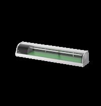 Hoshizaki Sushivitrine | RVS/Zwart | 72L | +3°C/+5°C | Statisch | Compressor Rechts | 1800x345x270(h)mm