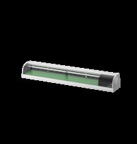 Hoshizaki Sushivitrine | RVS/Zwart | 87L | +3°C/+5°C | Statisch | Compressor Links | 2100x345x270(h)mm