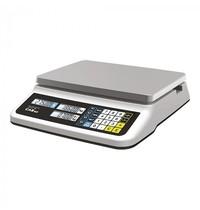 CAS Weegschaal elektronisch RVS plateau 30x22cm  006kg/2gr of 015kg/5gr | 350x330x110(h)mm