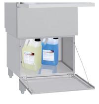 Diamond Vaatwasser Onderstel | RVS | Dichte Kast | Verstelbare Poten | 595x570x590(h)mm