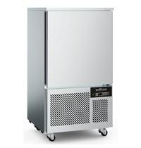 Ecofrost Blastschiller RVS | 7x 1/1 GN of 600x400mm | Geforceerd | 230V | 800x800x1515(h)mm