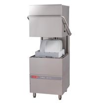 Gastro M Doorschuifvaatwasser | Mand 500x500mm | Afvoerpomp | Zeeppomp | Naglanspomp | Breaktank | 750x880x1830(h)mm