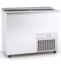 Coreco Koelkist met Werkblad   Wit   270L   +2°C/+8°C (Statisch + Ventilator)   2 Schuifdeksels (Dicht)   1010x550x850(h)mm