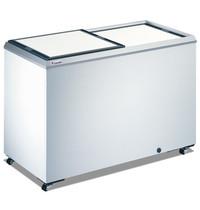 Caravell Koelkist | Wit | 386L | +2°C/+12°C (Statisch) | 2 Schuifdeksels (Dicht) | 1305x654x895(h)mm