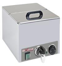 Diverso by Diamond Voedingsverwarmer   1/2 GN (150mm)   1kW   Aftapkraan   264x275x260(h)mm