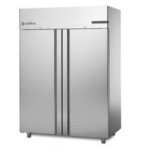 Coldline Vrieskast   RVS   1400L   2/1 GN   -18°C/-22°C   Geventileerd   692W   1480x815x2085(h)mm