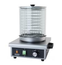 CombiSteel Worstenverwarmer elektrisch   Hotdog max 240mm lang   230V   325x287x410(h)mm