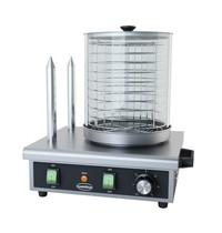 CombiSteel Worstenverwarmer elektrisch   Hotdog max 240mm lang   230V   330x290x410(h)mm