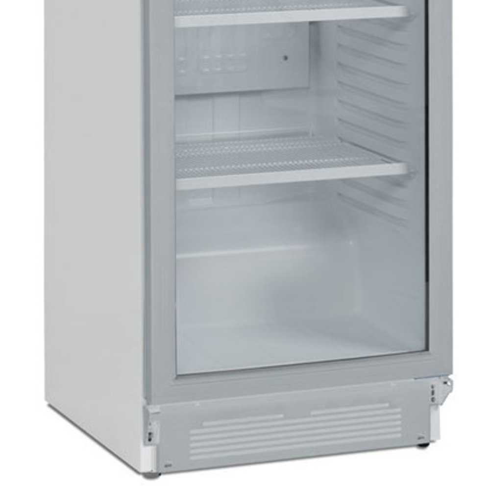 Koelkast   380L   Wit   +2°C/+12°C   Geventileerd   5 Schappen   595x640x1980(h)mm