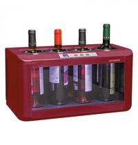 CAVANOVA Wijnkoeler | 4x 75cl | +5°C/+18°C | Elektrothermisch | 480x260x260(h)mm