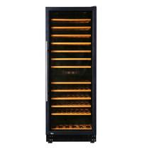 Exquisit Wijnkoelkast | Zwart | 270L | 102x 75cl | 2 Zones | +5°C/+22°C | Statisch | 595x625x1625(h)mm