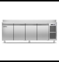 Coldline Vrieswerkbank   RVS   360L   4 Deuren   1/1 GN   -18°/-22°C   Geventileerd   2260x700x900(h)mm