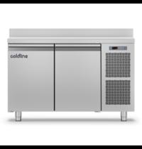 Coldline Vrieswerkbank   RVS   180L   2 Deuren   1/1 GN   -18°/-22°C   Geventileerd   1300x700x900(h)mm