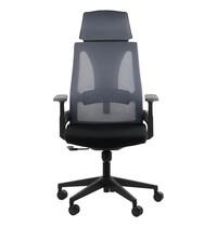 Luxus Bureaustoel Olton H Grey   Zithoogte 46-56
