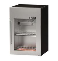 TopCold Rijpingskast | 160L | RVS/Zwart | 0°C/+15°C | Statisch | Carbonfilter | 600x620x925(h)mm