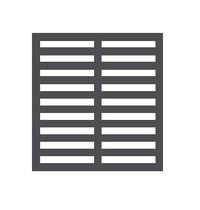 CombiSteel Roosterset | Voor CombiSteel 2/1 GN Monoblock Koelingen | Incl. Roosterhouders | 530x650mm